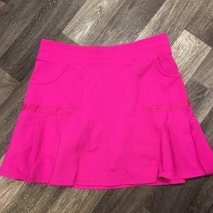Athlete Hot Pink Skirt